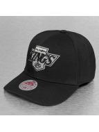 Mitchell & Ness Flexfitted Cap LA Kings Stretch Fit schwarz