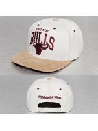 Mitchell & Ness Gorra Snapback Cross Over SB Chicago Bulls blanco