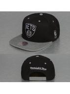 Mitchell & Ness Snapback Cap Greytist Brookyln Nets black
