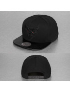 Mitchell & Ness Snapback Cap NBA Patent 2Tone Tonal Chicago Bulls black
