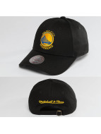 Mitchell & Ness Snapback Cap NBA Team Logo Low Pro Golden State Warriors black