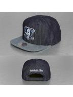 Mitchell & Ness Snapback Cap Blue Linen NHL Anaheim Ducks blau