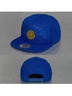 Mitchell & Ness Snapback Cap Lux Arch Golden State Warriors blau