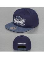 Mitchell & Ness Snapback Cap Melange Infill Cleveland Cavalier blau