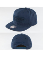 Mitchell & Ness Snapback Cap Box Logo blau