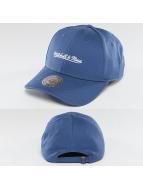 Mitchell & Ness Snapback Cap Team Logo Low Pro blau