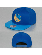 Mitchell & Ness snapback cap NBA Patent 2Tone Tonal Golden State Warriors blauw
