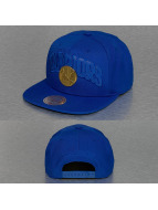 Mitchell & Ness Snapback Cap Lux Arch Golden State Warriors blue
