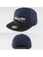Mitchell & Ness Snapback Cap Box Logo blue
