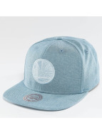 Mitchell & Ness Snapback Cap NBA Italian Washed Golden State Warriors blue