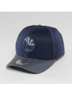 Mitchell & Ness NBA Heather 2-Tone Golden State Warriors Snapback Cap Navy
