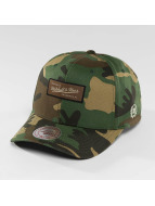 Mitchell & Ness Snapback Cap Woodland Camo And Suede camouflage