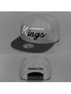 Mitchell & Ness Snapback Cap Tri Pop Special Script LA Kings grau