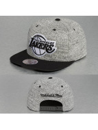 Mitchell & Ness Snapback Cap Grey Duster LA Lakers grau