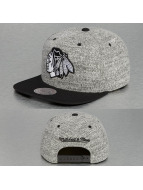 Mitchell & Ness Snapback Cap Grey Duster Chicago Blackhawks grau