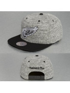 Mitchell & Ness Snapback Cap Grey Duster Detroit Red Wings grau