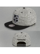 Mitchell & Ness Snapback Cap Grey Duster LA Kings grau