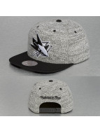 Mitchell & Ness Snapback Cap Grey Duster San Jose Sharks grau