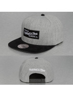 Mitchell & Ness Snapback Cap Heather Micro grau