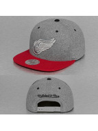 Mitchell & Ness Snapback Cap Greyton Detroit Red Wings grau