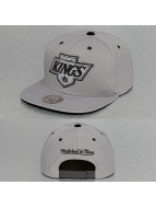 Mitchell & Ness Snapback Cap Solid Velour LA Kings Logo grau