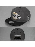 Mitchell & Ness Snapback Cap G3 LA Lakers Logo grau