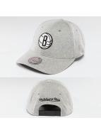 Mitchell & Ness Snapback Cap NBA Sweat Brooklyn Nets grau