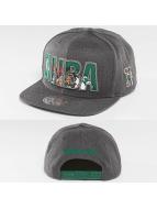 Mitchell & Ness Snapback Cap Insider Reflective Boston Celtics grau