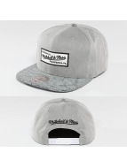 Mitchell & Ness Snapback Cap Cracked grau
