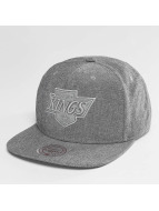 Mitchell & Ness Snapback Cap NHL Italian Washed LA Kings grau