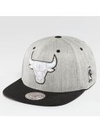 Mitchell & Ness NBA 3-Tone Logo Chicago Bulls Snapback Cap Light Heather/Black