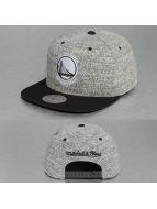 Mitchell & Ness Snapback Cap Grey Duster Golden State Warrior grey
