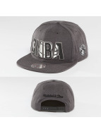Mitchell & Ness Snapback Cap Insider Reflective Brooklyn Nets grey