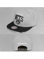 Mitchell & Ness snapback cap Black USA Brooklyn Nets grijs
