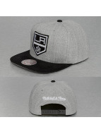 Mitchell & Ness snapback cap Heather Micro LA Kings grijs