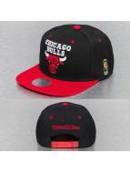 Mitchell & Ness Snapback Cap Chicago Bulls nero