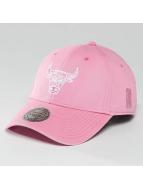 Mitchell & Ness snapback cap NBA Pastel 2-Tone Logo Chicago Bulls pink