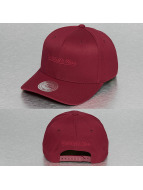 Mitchell & Ness Snapback Cap Tonal Logo High Crown 110 red