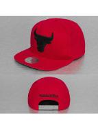 Mitchell & Ness snapback cap Melton Proper Chicago Bulls rood