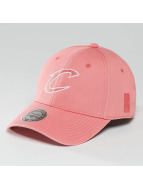 Mitchell & Ness NBA Pastel 2-Tone Logo Cleveland Cavaliers Snapback Cap Burnt Coral