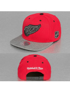 Mitchell & Ness Snapback Cap Greytist Detroit Red Wings rot