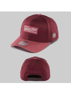 Mitchell & Ness Snapback Cap Heather 2-Tone rot