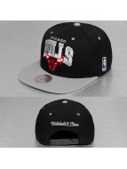 Mitchell & Ness Snapback Cap Team Arch 2 Tone Chicago Bulls schwarz