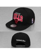 Mitchell & Ness Snapback Cap Black Up Team Arch Chicago Bulls schwarz