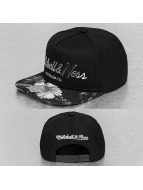 Mitchell & Ness Snapback Cap Tropical Visor Silver Sonic schwarz