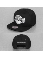 Mitchell & Ness Snapback Cap Black White NBA LA Lakers schwarz