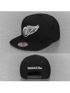Mitchell & Ness Snapback Cap Grid NHL Detroit Red Wings schwarz