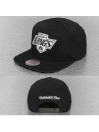 Mitchell & Ness Snapback Cap Grid NHL LA Kings schwarz