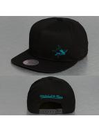 Mitchell & Ness Snapback Cap Absolut NHL San Jose Sharks schwarz