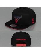 Mitchell & Ness Snapback Cap Gradient NBA Chicago Bulls schwarz